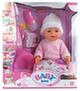 Кукла Baby Doll Love тёплый розовый комбинезон