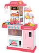 Кухня «МИЛА» с водой, паром и большим холодильником