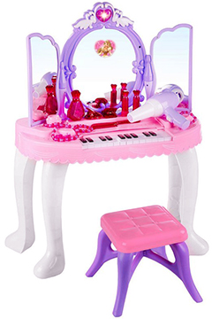 Музыкальное трюмо «Принцесса» с синтезатором