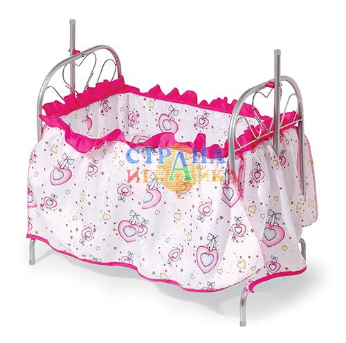 Кукольная кроватка-качели