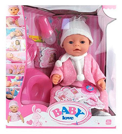 "Кукла Baby Doll Love вязаный костюм ""Снежок"""