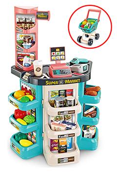 """Игровой набор """"SuperMarket"""" с тележкой и весами"""