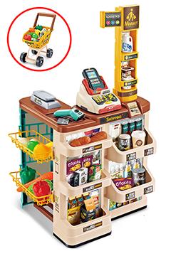 """Игровой набор """"SuperMarket"""" с тележкой и терминалом"""