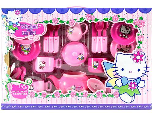 "Набор посудки на 4 персоны ""Hello Kitty"""
