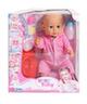 Говорящая кукла Baby Toby (в розовом костюмчике)