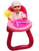Стульчик для кормления + кукла 661-16
