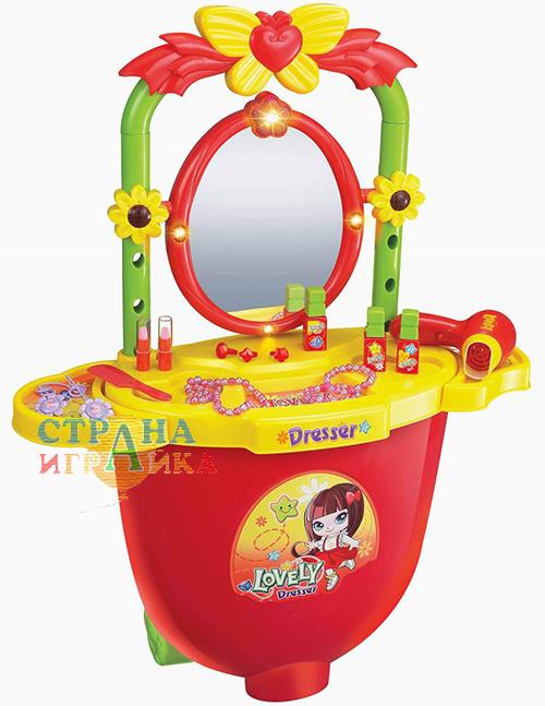 """Игровой набор для девочки """"Трюмо в чемоданчике"""""""