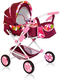 Большая коляска для куклы «ЛЮКС-Maxi»