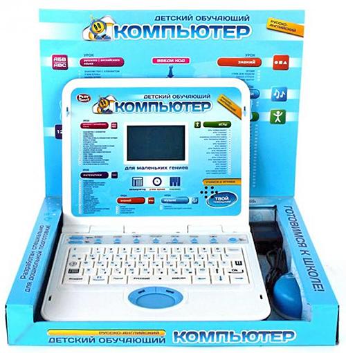 Детский компьютер-ноутбук 7293