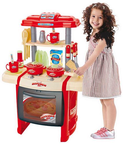 Детская мини-кухня с большой духовкой