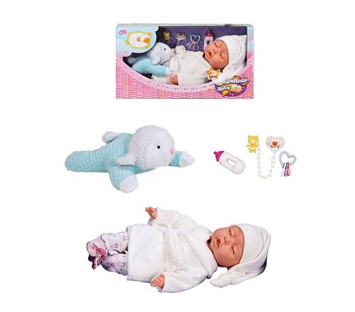 """Набор """"Slumber Baby"""" 90020: кукла-сплюшка с игрушкой"""