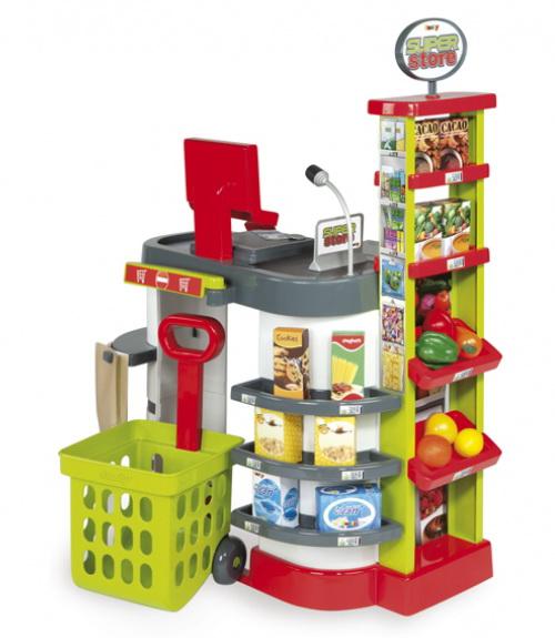 Зеленый супермаркет Smoby 24621