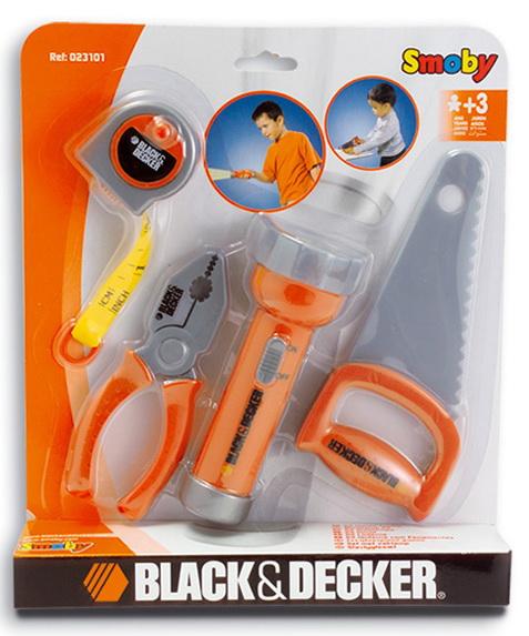 Набор инструментов Black & Decker с фонариком