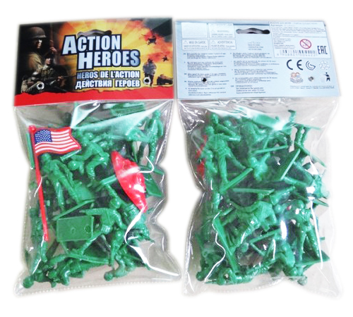 """Набор солдатиков """"Action Heroes"""""""