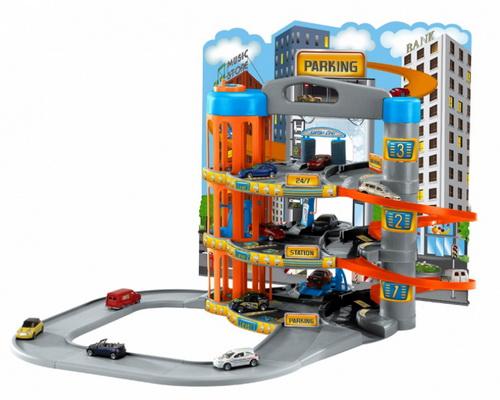 Парковка + 10 машинок Majorette 205679