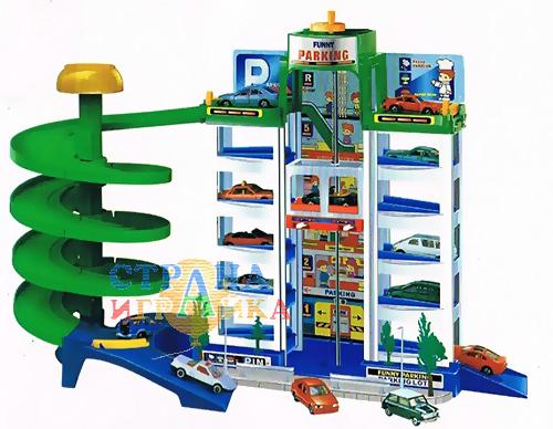Детский гараж-парковка 20922