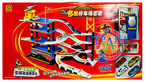 Игрушечная 5-уровневая парковка 5513-04