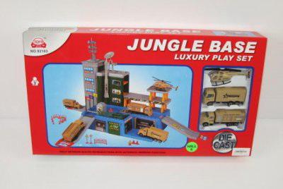 """Игра-парковка """"Военная база в джунглях"""""""