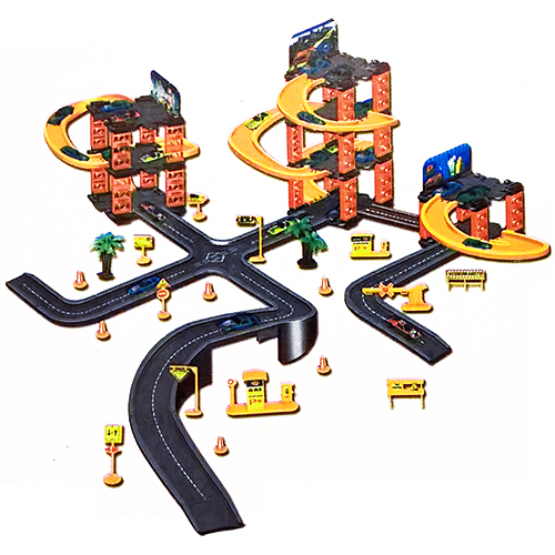 """Игровой паркинг с сетью дорог """"Parking Tower 3"""""""