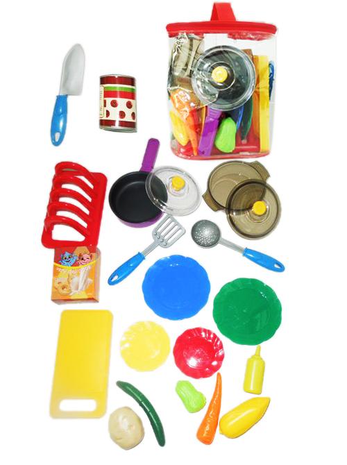 """Игровой набор посуды и продуктов """"FUNNY KitchenSet - 12b"""""""